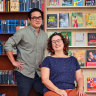'It helped that we were both passionate about books': the Bega shop owners writing a new life chapter
