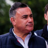 'It's not the jockey, it's the horse': Barilaro weighs in on Labor woes