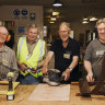 The UnGrumpy Old Men:  Parramatta men find happiness down The Shed