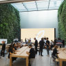 Apple launches new-look stores in Australia
