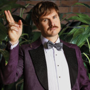 Local comedian Damien Power returns for his eighth Brisbane Comedy Festival appearance this year