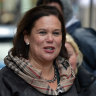 Sinn Fein leader Mary Lou McDonald.