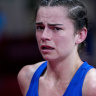 'Just really heartbreaking': Australian misses out on boxing history by barest of margins