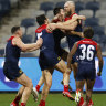 Snap Shot: Mann, what a Demons win to celebrate