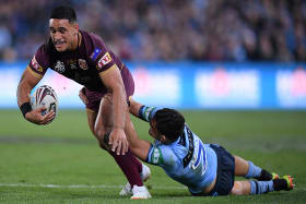 'I had to make Origin tackle': Cleary on huge covering stop