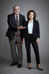John Howard and Sigrid Thornton return in the rebooted Seachange.