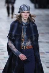 Cancel the colourist ... headscarves at Dior.