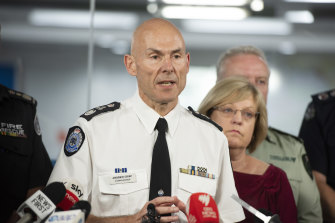 Emergency Management Commissioner Andrew Crisp revealed part of the Princess Highway reopened on Monday.