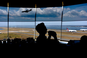The federal government-owned Airservices has about 135 air traffic controllers in greater Sydney.
