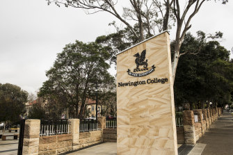 Newington College in Stanmore.