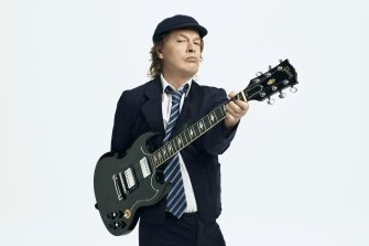 AC/DC's Angus Young says his late brother, Malcolm, would be proud of the band's new album.