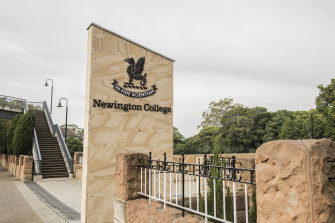 Stanmore campus of Newington College.