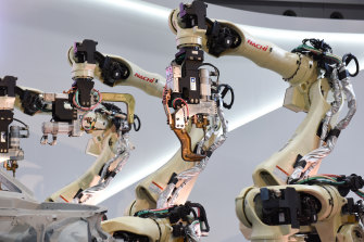 Japan is looking to robots to help ease the impact of a labour shortage.