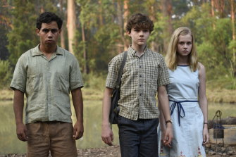 A scene from the film adaption of Jasper Jones, which was released in 2017.
