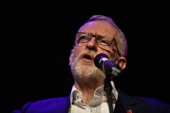 Labour leader Jeremy Corbyn is encumbered by low voter satisfaction scores.