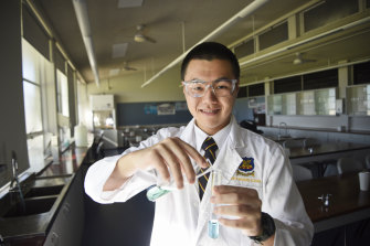 Keith Wong will be the first student from WA since 2016 to represent Australia in the International Science Olympiads.