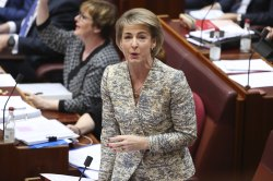 Attorney-General Michaelia Cash during the final parliamentary sitting week in June.