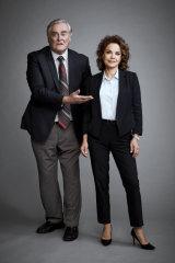 John Howard and Sigrid Thornton return in the rebooted Seachange.