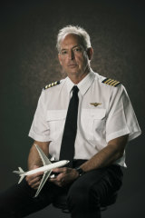 Pilot Kevin Sullivan worked in the US Navy and the RAAF before joining Qantas.