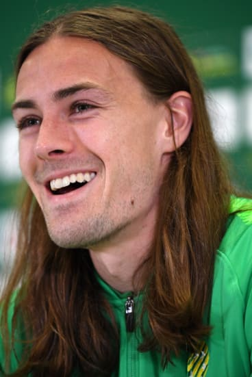 Family affair: Jackson Irvine says gestures from staff have been appreciated.