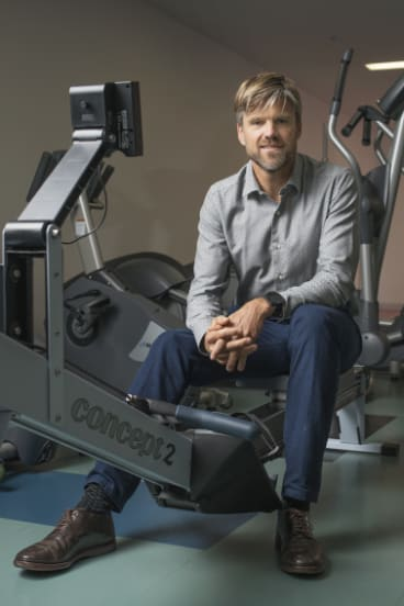 Cardiologist Andre La Gerche, a marathon runner, is conducting long-term research into endurance sport and heart health.