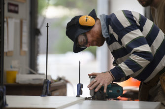 Beau Miles is an outdoor education lecturer. So who let him near the circular saw?