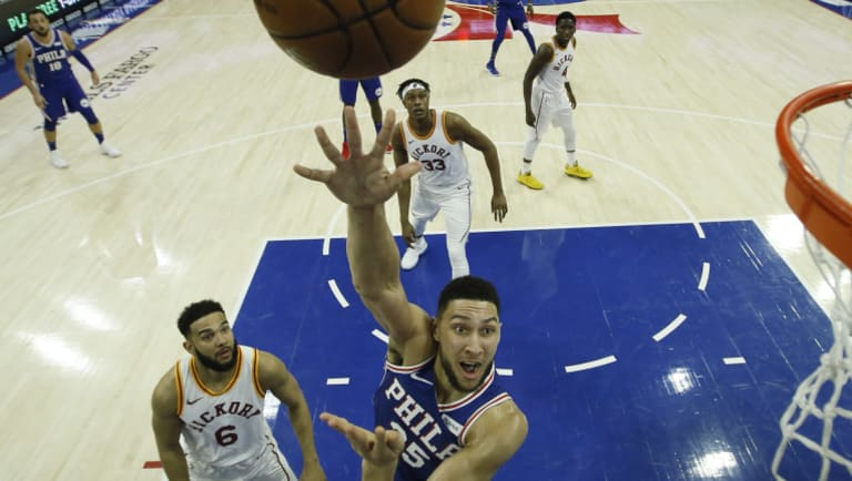 Filling up the stat sheet: Ben Simmons.