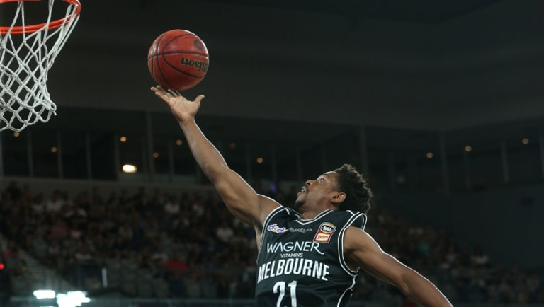 Casper Ware in action against New Zealand on Friday.