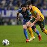 Socceroos' winning streak comes to end against Japan