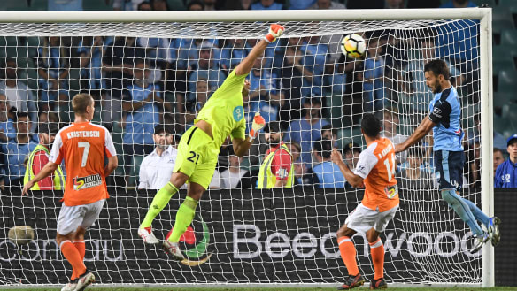 Roar breach Fortress Allianz to deliver rude wake-up call to Sydney FC