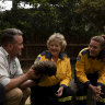 Taronga Zoo thanks bushfire personnel by opening doors for free