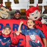 Demons raise hell in Perth as WA footy fans adopt Melbourne as their own