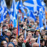 Scottish independence 'within touching distance'