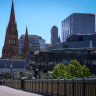 Office workers commuting to CBD drops to lowest yet