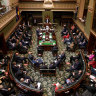 Full house in NSW Parliament on Tuesday,