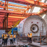 Metro Tunnel machines grind to halt in dispute over billions in cost blowouts