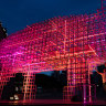 From feeding pigs to installing a bright, pink pig lantern at the Opera House