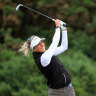 World No.304 Popov takes three-shot lead at women's British Open