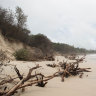 Coastal regions assess erosion damage, wary of more 'perfect storms'