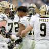 Saints wide receiver breaks NFL record as Eagles beat Cowboys