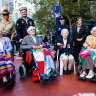 'For goodness' sake, go': spirit lives on in Anzac Day march