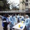 A Sydney vaccination hub