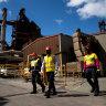 Glimpses of a low carbon future amid Port Kembla's coal and steel