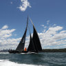 COVID-19 almost wiped out supermaxi yachts from Sydney to Hobart, says skipper