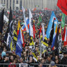 Mass rally in Moscow demands the release of 'political prisoners'