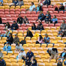 Queensland stadiums running on empty with 1.6 million fewer bums on seats