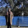 Parramatta councillor Patricia Prociv voted to oppose a plan to cut down 60 trees in the park to build car parking at Parramatta Park. Thursday 17th June 2021 SMH photo Louie Douvis .