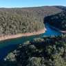 Sydney dams set to drop below half capacity for first time since 2004