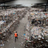 Insolvent recycling company shipped Adelaide's junk to Melbourne - and dumped it