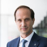 AMP's recently appointed chief executive Francesco De Ferrari is hear to win the hearts of investors.